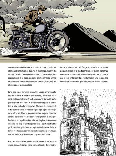 Page 6 Les cinq de cambridge - intégrale