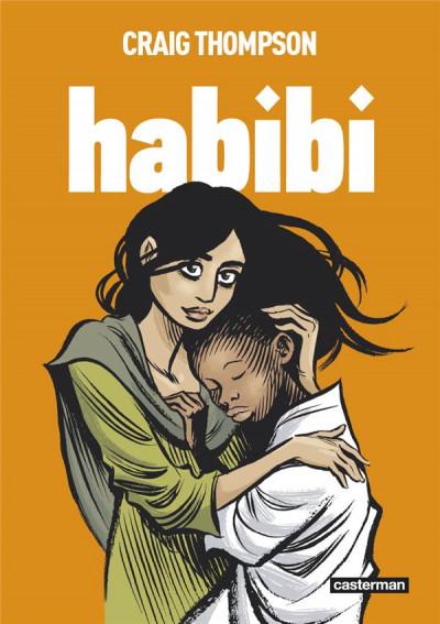 Couverture Habibi (op roman graphique)