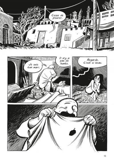 Page 5 Habibi (op roman graphique)