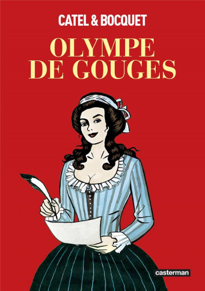 Couverture Olympe de Gouges (op roman graphique)