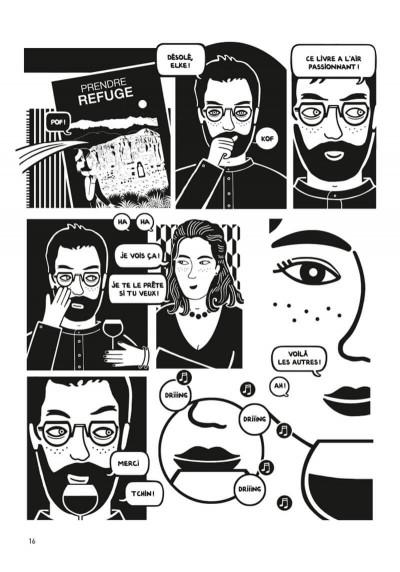 Page 3 Prendre refuge (op roman graphique)