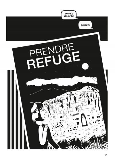 Page 4 Prendre refuge (op roman graphique)