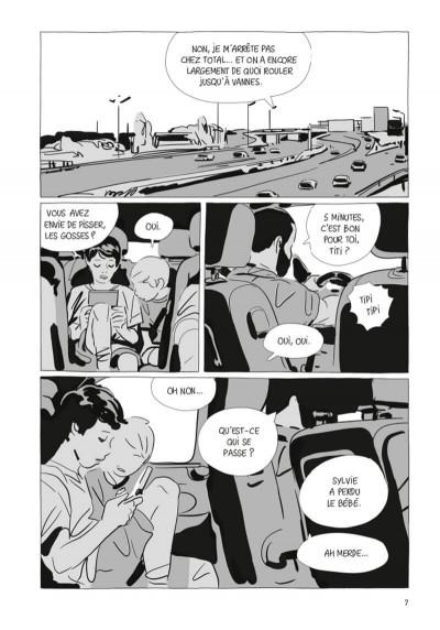 Page 1 Une soeur (op roman graphique)