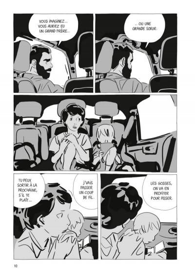 Page 4 Une soeur (op roman graphique)