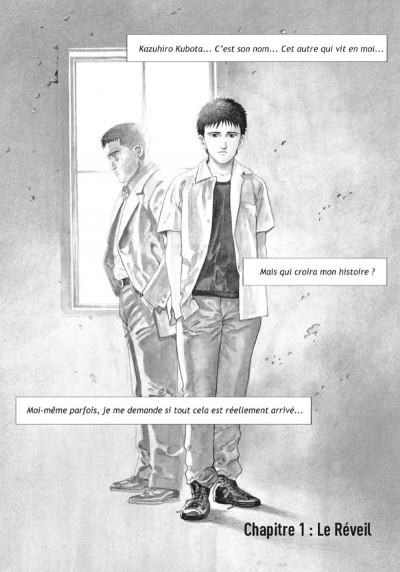 Page 1 Un ciel radieux (op roman graphique)