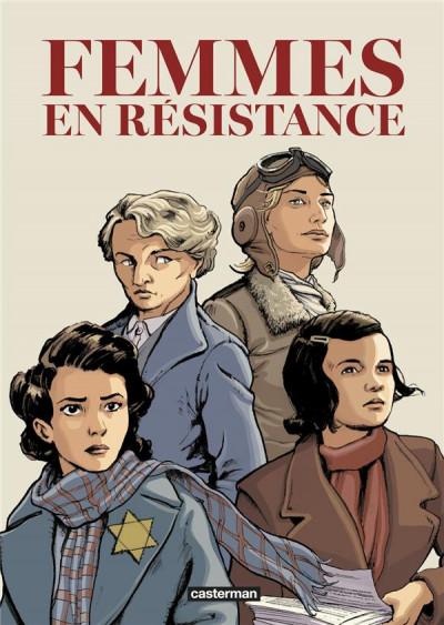Couverture Femmes en résistance - intégrale