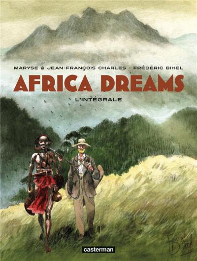 Couverture Africa dreams - intégrale