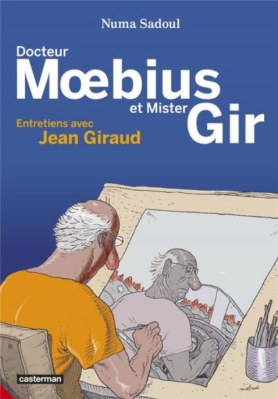 Couverture Docteur Moebius et Mister Gir