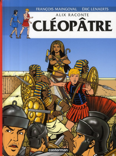 image de Alix raconte tome 2 - cléopâtre