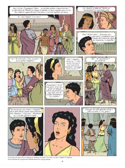 Page 2 Alix raconte tome 2 - cléopâtre