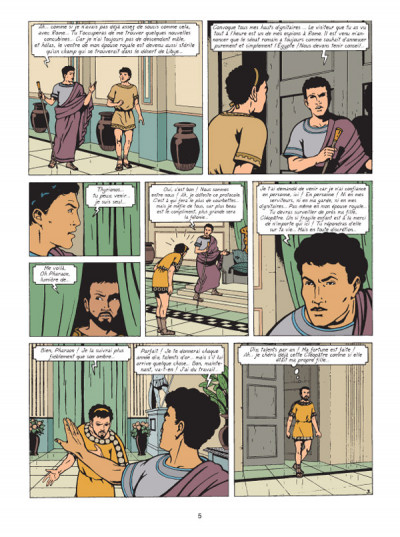 Page 3 Alix raconte tome 2 - cléopâtre