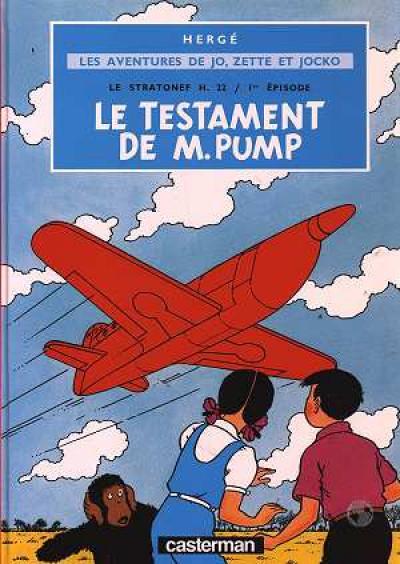 image de Jo, zette et jocko tome 1 - le stratonef h.22 tome 1 - le testament de m pump