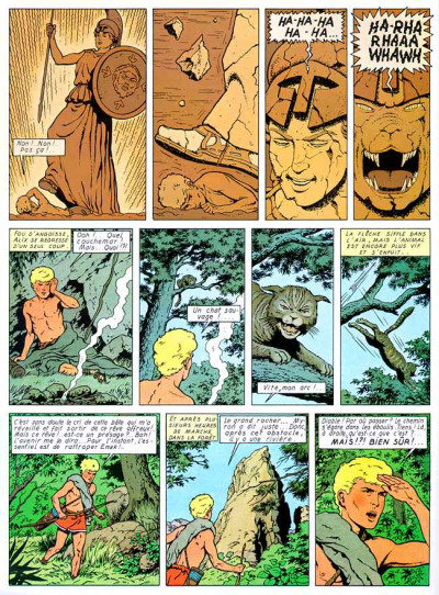 Page 1 Alix tome 7 - le dernier spartiate