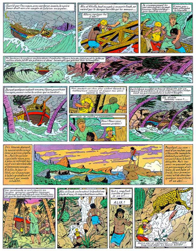 Page 1 Alix tome 3 - l'ile maudite