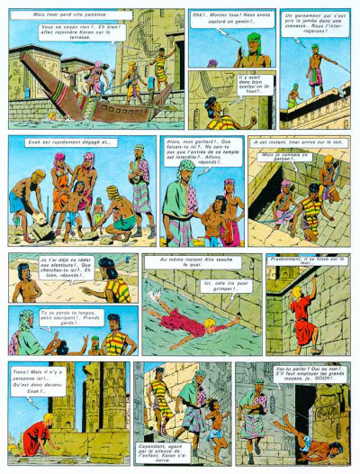 Page 1 Alix tome 2 - le sphinx d'or
