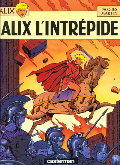 Couverture Alix tome 1 - alix l'intrépide