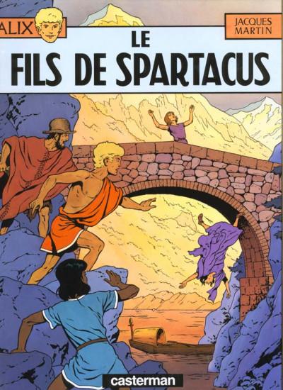 Couverture Alix tome 12 - le fils de spartacus