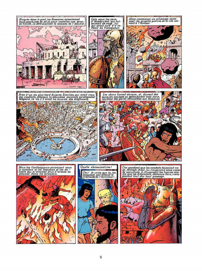 Page 4 Alix tome 13 - le spectre de carthage