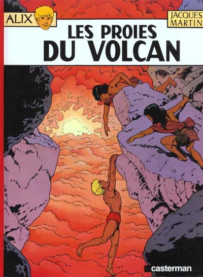 Couverture Alix tome 14 - les proies du volcan