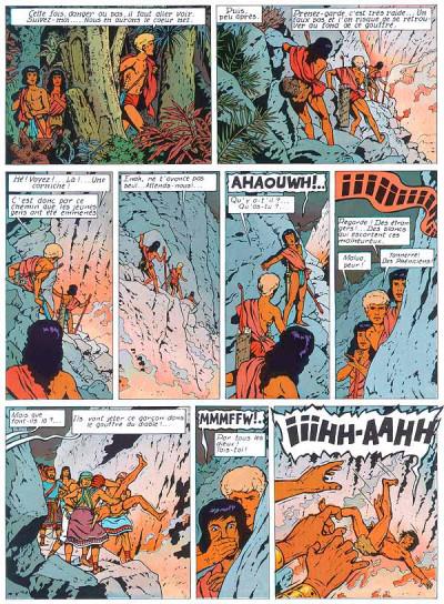 Page 1 Alix tome 14 - les proies du volcan