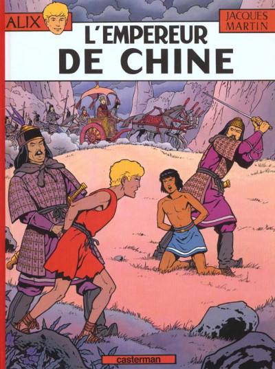 Couverture Alix tome 17 - l'empereur de chine
