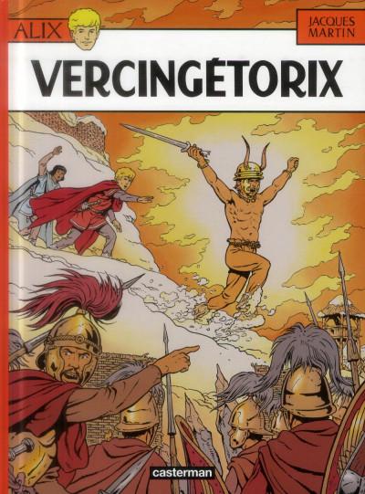 Couverture Alix tome 18 - vercingétorix