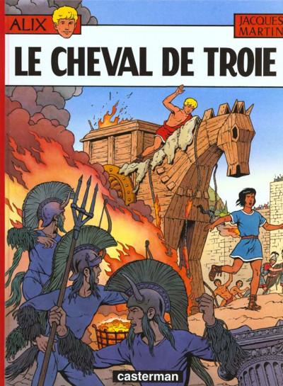 Couverture Alix tome 19 - le cheval de troie