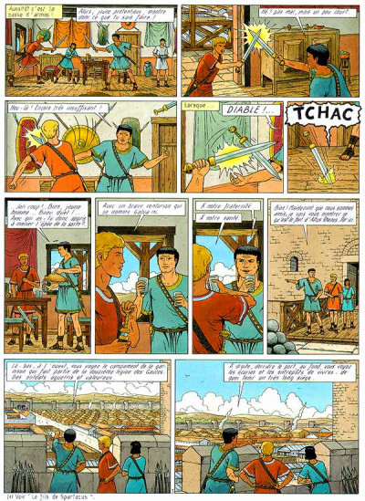 Page 1 Alix tome 21 - les barbares