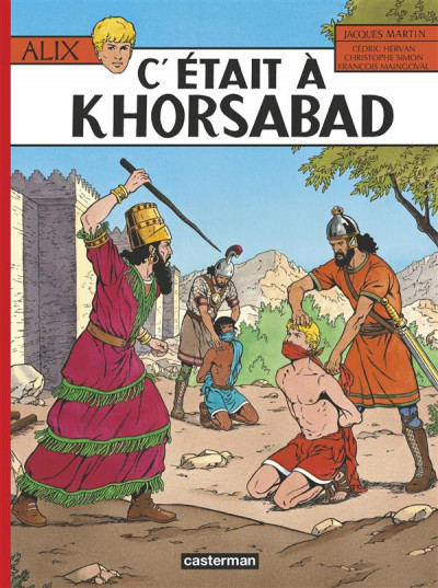 image de Alix tome 25 - c'était à khorsabad
