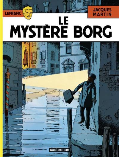 Couverture Lefranc tome 3 - le mystère borg