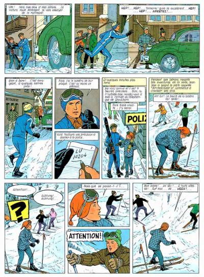 Page 1 Lefranc tome 3 - le mystère borg