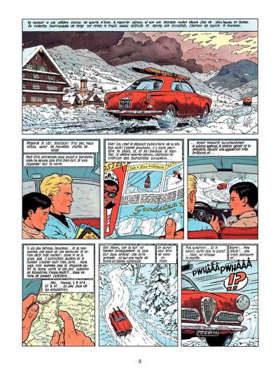 Page 2 Lefranc tome 3 - le mystère borg