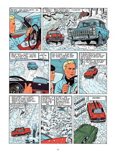 Page 3 Lefranc tome 3 - le mystère borg