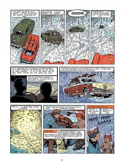 Page 4 Lefranc tome 3 - le mystère borg