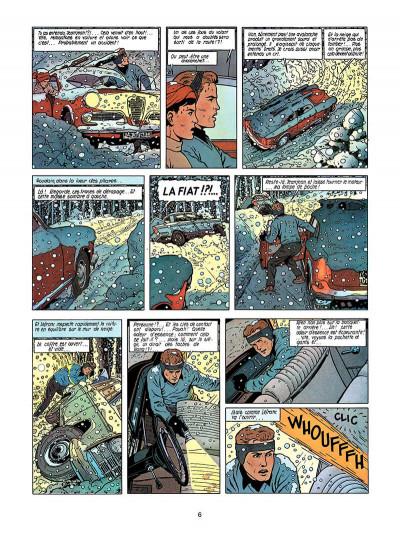 Page 5 Lefranc tome 3 - le mystère borg