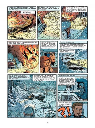 Page 6 Lefranc tome 3 - le mystère borg