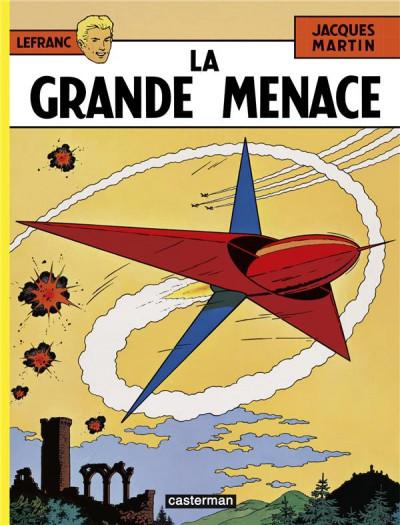 Couverture Lefranc tome 1 - la grande menace