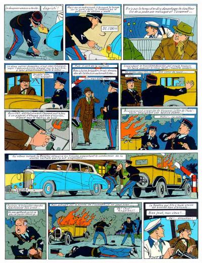 Page 1 Lefranc tome 1 - la grande menace