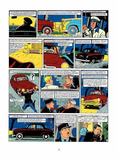 Page 4 Lefranc tome 1 - la grande menace