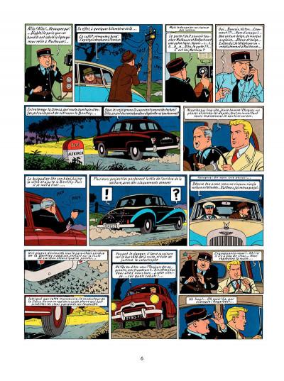 Page 5 Lefranc tome 1 - la grande menace