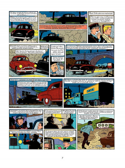 Page 6 Lefranc tome 1 - la grande menace