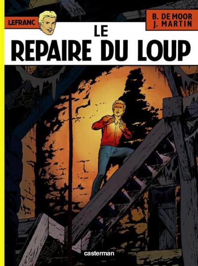 Couverture Lefranc tome 4 - le repaire du loup