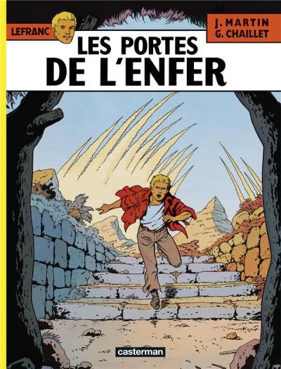 Couverture Lefranc tome 5 - les portes de l'enfer