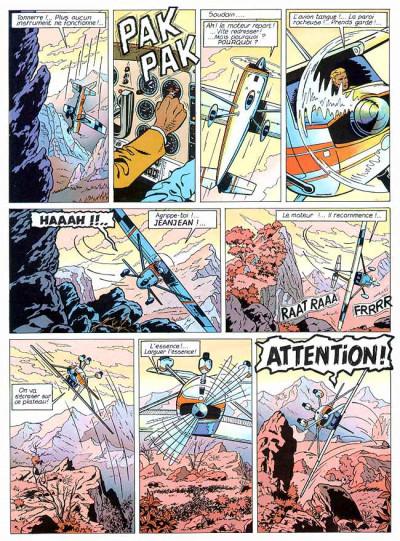 Page 1 Lefranc tome 5 - les portes de l'enfer