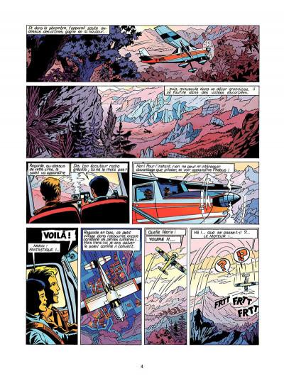 Page 5 Lefranc tome 5 - les portes de l'enfer