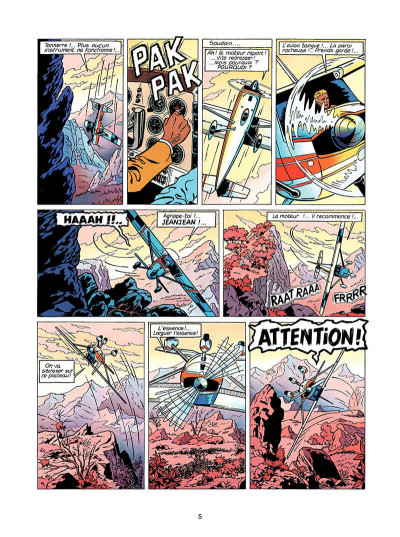 Page 6 Lefranc tome 5 - les portes de l'enfer