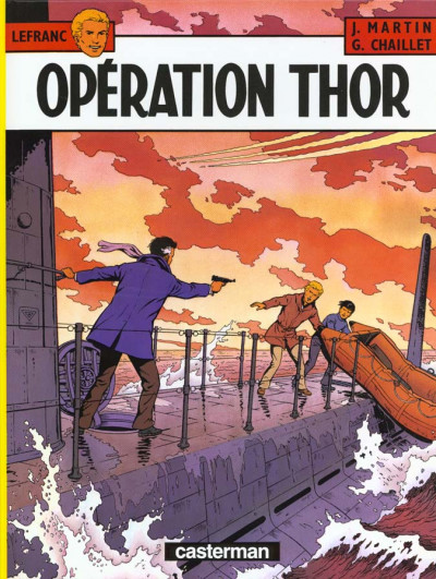 Couverture Lefranc tome 6 - opération thor