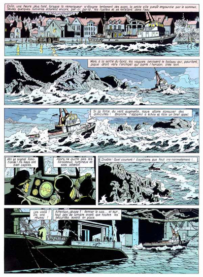 Page 1 Lefranc tome 6 - opération thor