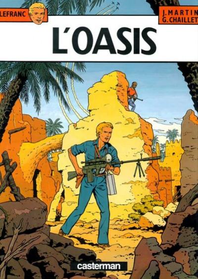 Couverture Lefranc tome 7 - l'oasis