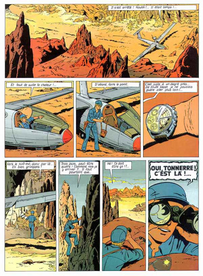 Page 1 Lefranc tome 7 - l'oasis